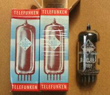 1 Paar PCC88 Telefunken 7DJ8 tubes NIB / NOS selbe Charge