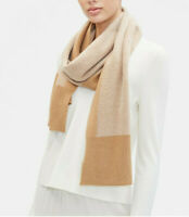 Eileen Fisher Lofty Cashmere & Wool Scarf One Size  Clay