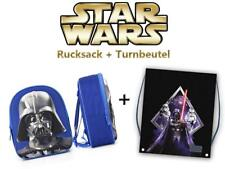 Star Wars Rucksack - Darth Vader (3D Relief) + Turnbeutel Kinderrucksack NEU