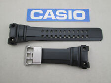 Genuine Casio G-Shock Gulfmaster GWN-1000B watch band strap black resin rubber