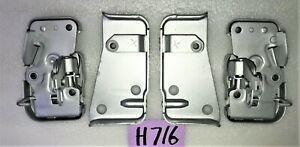 USED 68 - 79 SPRITE / MIDGET RH & LH SIDE DOOR LATCH & STRIKER ASSEMBLIES   H716