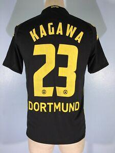 BORUSSIA DORTMUND GERMANY 2006 PLAYER KAGAWA SOCCER FOOTBALL KIT SHIRT JERSEY XS