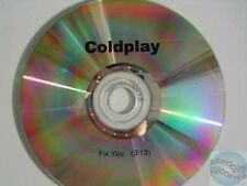 COLDPLAY FIX YOU CD PROMO acetate