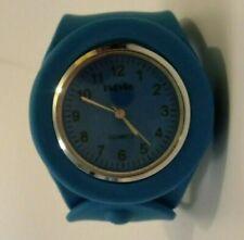 iStyle Slap on Silicone Watch Quartz Sports Watch Blue