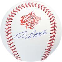 Andy Pettitte New York Yankees Autographed 1998 World Series Logo Baseball