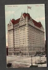 1912 Plaza Hotel NY post card written in German to Thompson Ridge Orange County