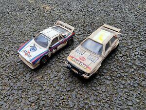 scalextric Vintage Slot Cars rally audi quattro lancia 037