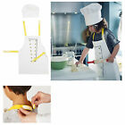 IKEA Chidren Kids Apron Kitchen Cooking Little Chef Aprons Playing w/ White Hats