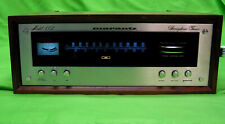 MARANTZ 112  STEREOPHONIC TUNER with Wood Case. TESTED