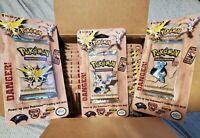 1 Pokemon Fossil SEALED Booster blister Pack WOTC Factory Sealed 1999 Random art