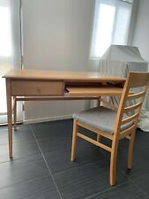 home office Scandinavian Designs set—desk, chair, 2 drawer vertical file