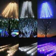 Perfect Holiday MTR-30B 8 Tubes - 30 cm Snowfall Meteor LED Light, Blue
