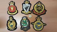 Blazer Patch/Badge Various Regiments Veterans British Army/Navy/RAF