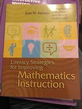 Literacy Strategies for Improving Mathematics Instruction by Loretta Heuer,...