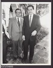 VINTAGE PRESS PHOTO / GOV. RAFAEL HERNANDEZ COLON / PUERTO RICO / 1980's / #7