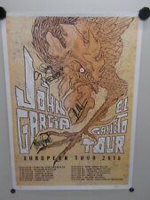 1x Poster 2015 John Garcia El Gallito Tour Signed / Garcia - Pygmie - Seanz