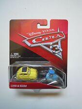 Disney Cars Luigi & Guido Vehicles - Mattel