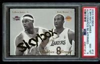 2003-04 Skybox Kobe Bryant - Lebron James Autographics Rookies - Affirmed #12