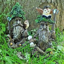 Tree Ent Pair with Books Fantasy Garden Outdoor Sculptures Magic Myth 39683