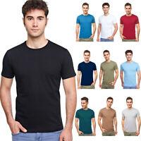 BALI Lingerie - Herren Kurzarm Rundhals T-Shirt Baumwolle