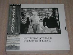 BEASTIE BOYS ANTHOLOGY sounds of science JAPAN 2 CD NEW