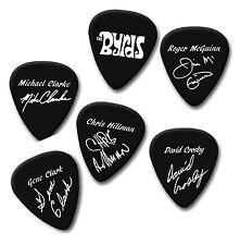 THE BYRDS Roger Michael Chris David signature print plectrum guitar pick picks