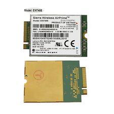 Sierra Wireless Airprime EM7455 4G card for Lenovo ThinkpadX260 T460 P70 00JT547