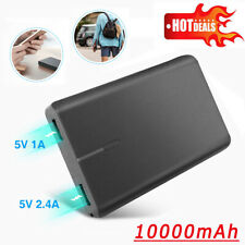 10000mAh Portable Power Bank USB Battery Charger for Cell Phone iPhone XR XS MAX