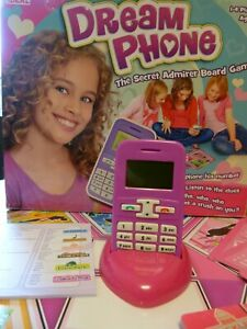 Dream Phone Secret admirer Board Game:Toy Mobile Complete: Working:Sleepover Fun
