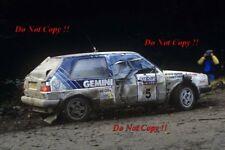 Kenneth Eriksson Volkswagen Golf GTi 16V RAC Rally 1987 Photograph 1
