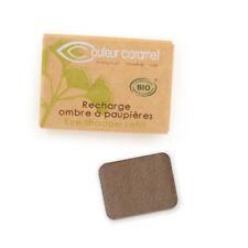 Recharge Fard à Paupières n°56 Brun Kaki nacrée Bio - 1,3 g - Couleur Caramel