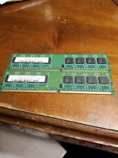 1GB,  2 x 512 MB Hynix PC2-5300U 1Rx8 DDR2 RAM FREE SHIP FROM OHIO!