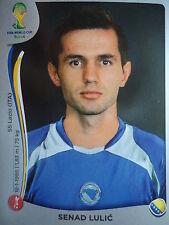 PANINI 439 SENAD LULIC Bosnia-Erzegovina FIFA World Cup 2014 Brasile