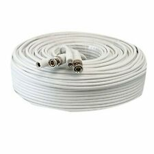 150ft RG59 Siamese Combo 20AWG Power Video SDI 95% Braid CCTV BNC Coaxial Cable