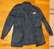Italian Polizia Di Stato Talia 54 Large size waterproof weather jacket 1983