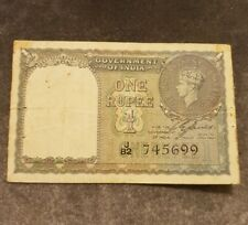 One Rupee Banknote- 1940