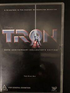 Tron DVD Disney 1982 2 Disc, 20th Anniversary Collector's Edition Region 4