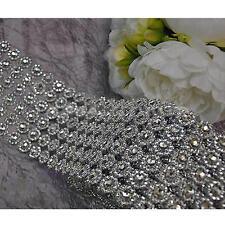 Diamond Mesh Wrap Cake Roll Rhinestone Ribbon Wedding Favor Decor Party Supplies