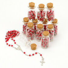 12 First Communion Favors Cross Rosary Christening Keepsake Recuerdos Comunion