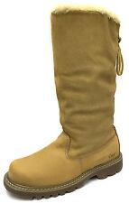 """New CAT Bruiser Scrunch Hi 13"""" Womens Boots Size UK 7/ HONEY / P305862"""