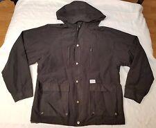 Huf SF full-zip hooded parka jacket men sz L rn# 114910