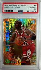 1994 Emotion N-Tense Michael Jordan #3, Rare Insert, Graded PSA Gem Mint 10 !$!