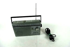 Emerson FM/AM 2Band Receiver/Cassette Player CP3630 working