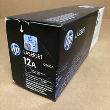 Genuine HP Q2612A (12A) Black Toner Cartridge - NEW SEALED