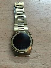 VINTAGE MERCURY TIME NEW YORK LED WATCH MONTRE OROLOGIO 70's