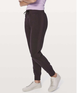 """Lululemon Get Going Jogger 28.5"""" Maroon Size 2 Cotton Terry"""