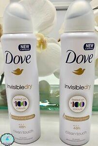 Dove Invisible Dry Antiperspirant Deodorant Spray 150 Ml 48 Hours ( Pack Of 2 )