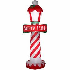 Airblown Inflatable-North Pole 7ft tall by Gemmy Industries Christmas Yard Decor