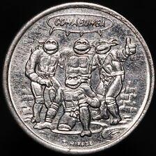 More details for teenage mutant ninja turtles 'michaelangelo' mirage advertising token   km coins