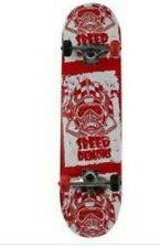 """Authentic Speed Demons 31"""" Skateboard with Awesome Graphics Skeletons"""